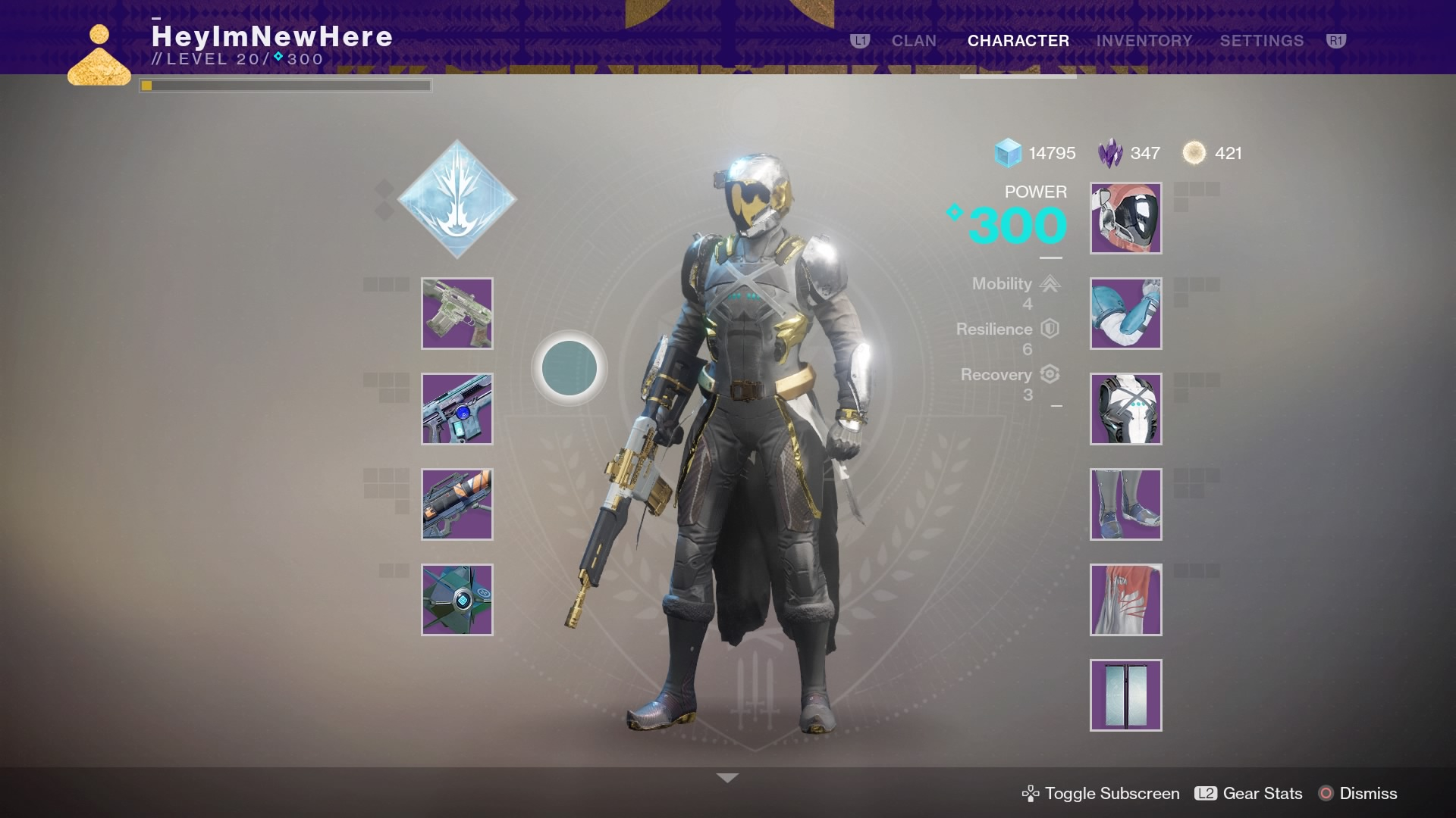 Racked: In 'Destiny 2,' Fashion Is Power | ResetEra